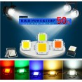 10W 20W 30W 50W 100W RGB LED CHIP integrato 9-12V 30-36V per Lampada proiettore