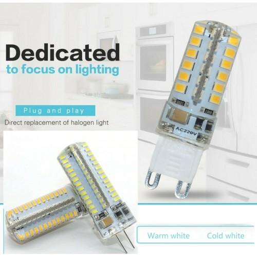 10pz LAMPADINA a LED G4 G9 3W 5W 7W 8W 10W 12W LUCE per faretto lampada risparmi