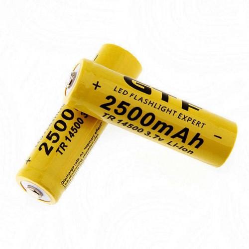 1X 4x 8x BATTERIA 14500 3.7V 2500 MAh RICARICABILE PILE batterie per telecomando
