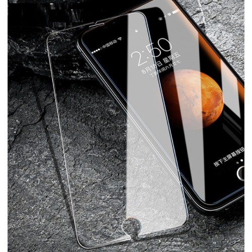 1pz 3pz TEMPERED GLASS pellicola in VETRO TEMPERATO per IPHONE 4 5 6 7 8 PLUS X