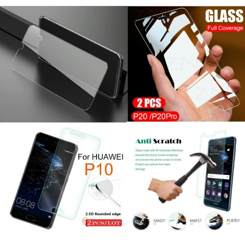 2 PZ pellicola vetro temperato 9H HD per Huawei P8 P9 P10 P20 lite Plus P30 Pro