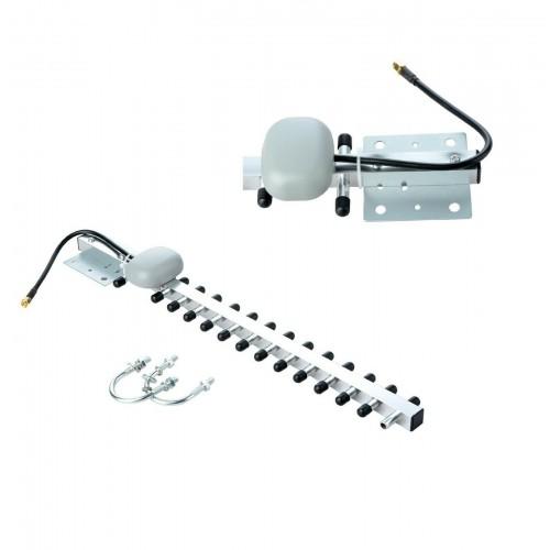 2.4 ghz Antenna WiFi 25dBi RP SMA Wireless Direzionale cavo RG58 modem ripetitor