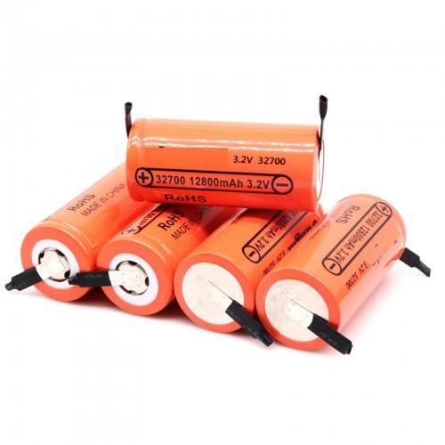 2/4/8/10 pezzi Batteria con lamelle ricaricabile 32700 12800mAh 3.2V Lifepo4 50A