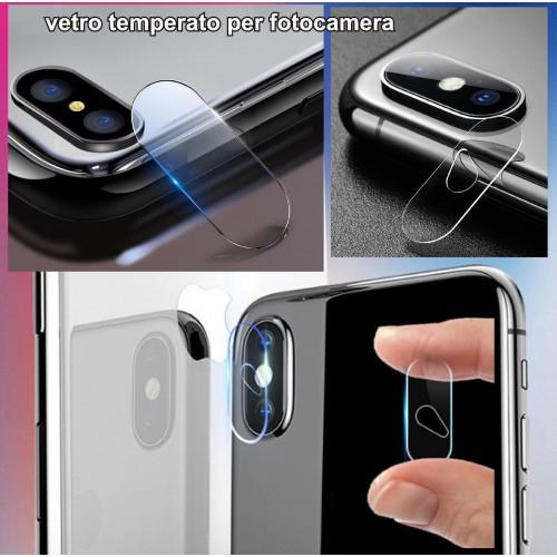 2PZ - protezione fotocamera in VETRO TEMPERATO per Apple IPHONE 6 7 8 PLUS X