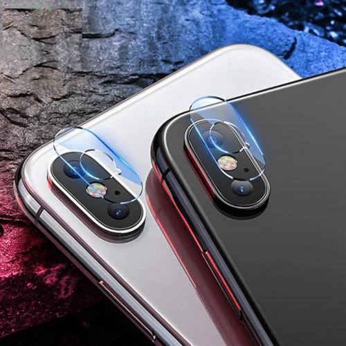 2PZ protezione fotocamera retro vetro temperato HD per apple IPHONE X XS XR Max