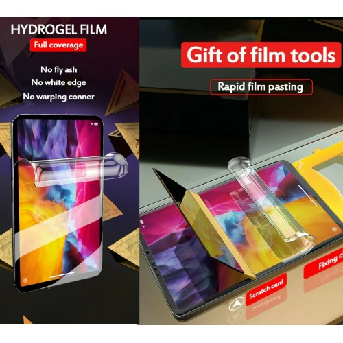 2Pz Pellicola HD Hydrogel morbida per Apple Ipad 2 3 4 mini Air 1 Pro 10.2 10.5