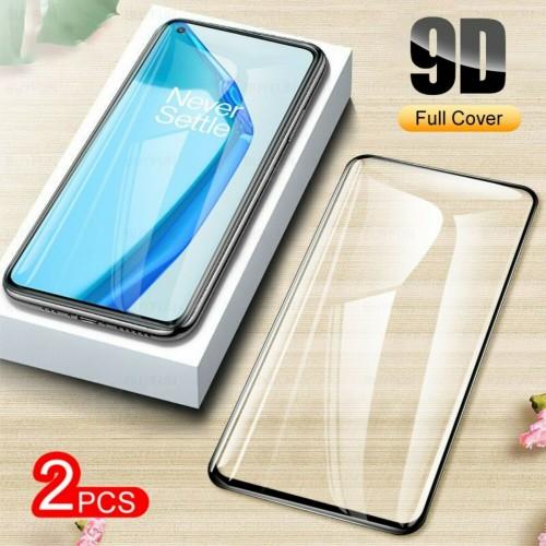 2Pz Pellicola display in vetro temperato copre 100% per OnePlus 8 8T 9 Pro 9R 9E