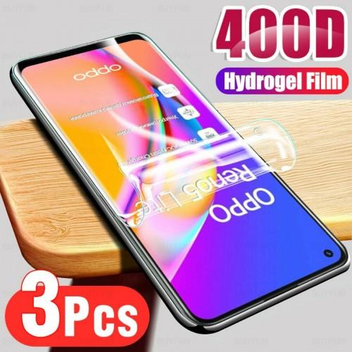 3Pz Pellicola display hydrogel copre 100% per Oppo Reno 5 5G 4G Pro lite 558 F
