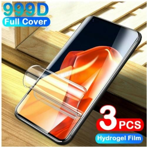 3Pz Pellicola display in HYDROGEL copertura al 100% per OnePlus 8 8T 9 Pro 9R 9E