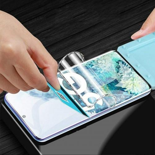 3Pz pellicola protettiva hydrogel HD con lati curvi per Samsung note 10 20 Plus