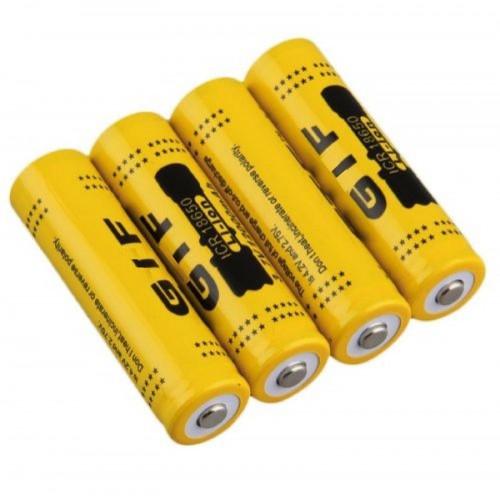 4x 8x 12x BATTERIA 18650 3.7V 12000Mah RICARICABILE PILE batterie AVVITATORE led