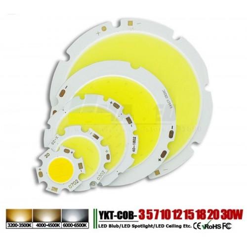 5pz - lampadine led 5W 7W 12W 20W 30W 50W lampada Chip integrato per riflettore