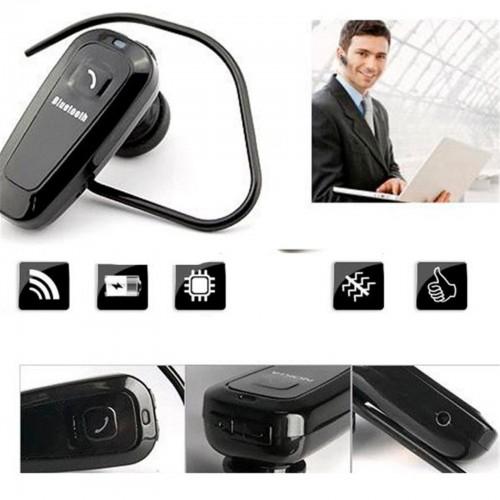 Auricolare Bluetooth 4.0 universale Microfono Headset Cuffie Ear hook smartphone