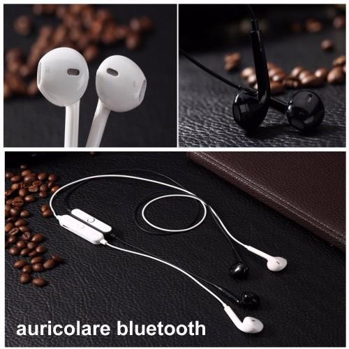 Auricolare senza fili Bluetooth sweatproof Vivavoce Microfono Headset Cuffie