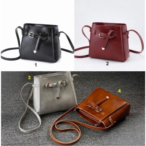 Borsa a tracolla borsello sacchetto in cuoio elegante compatta 22x18x8 Fashion