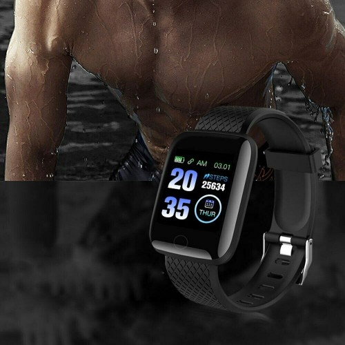 Bracciale Smartwatch Bluetooth sport fitness Cardiofrequenzimetro impermeabile