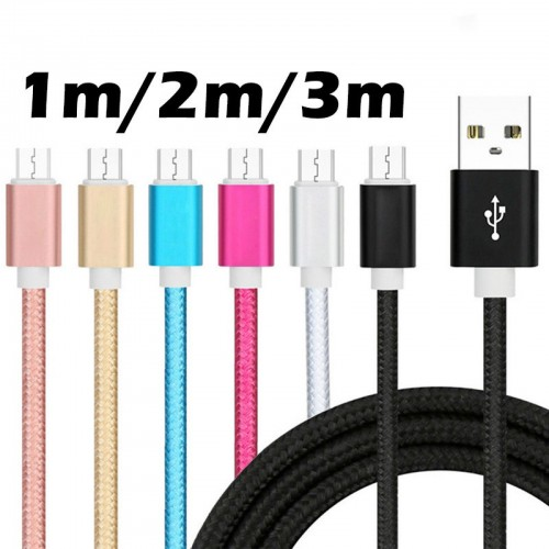 CAVO DATI USB caricabatterie per android Samsung LG Huawei Asus nokia Xiaomi...