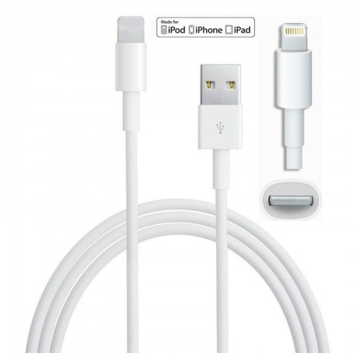 CAVO DATI USB per IPHONE 5 6 plus SYNC CARICA per IPAD 4 IPOD 7th gen lightning