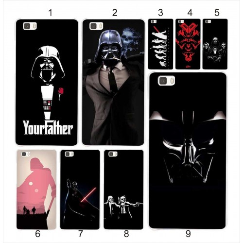 COVER CUSTODIA CASE cartoon 3d star wars darth vader per HUAWEI Mate S 7 8 9 10