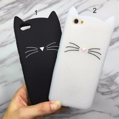 COVER CUSTODIA CASE cat gatto kitty per HUAWEI P8 P9 P10 lite Plus nova mate