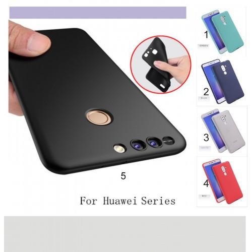 COVER CUSTODIA CASE in silicone per HUAWEI Honor 5C 6A 6X 7X 8 9 V8 V9 Pro Lite
