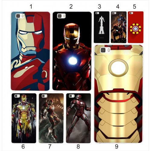 COVER CUSTODIA CASE iron man supereroe cartoni coque per HUAWEI Mate S 7 8 9 10