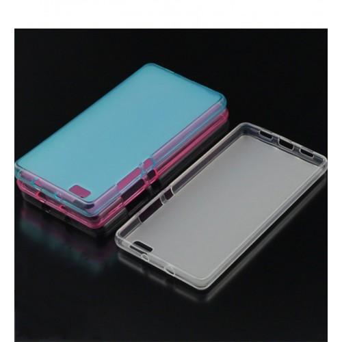 COVER CUSTODIA CASE molle colorata gel silicone per HUAWEI ASCEND P8 lite