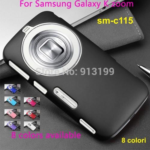 COVER CUSTODIA CASE plastica rigida per Samsung GALAXY K sm-c115 -  8 colour