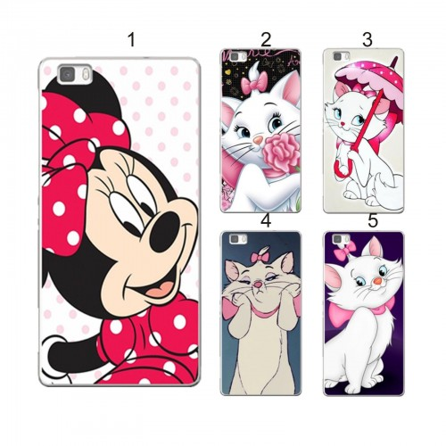 COVER CUSTODIA CASE pooh minnie mickey stitch per HUAWEI ASCEND P8 lite & 2017