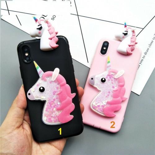 COVER CUSTODIA CASE unicorno 3D per HUAWEI P8 P9 P10 P20 lite Plus Pro nova 3e
