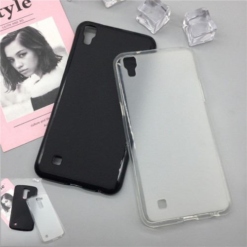 COVER CUSTODIA case TPU silicone paraurti per LG X power 2 cam Style screen mach