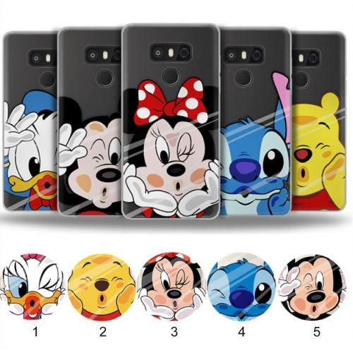 COVER CUSTODIA minnie stitch per LG K7 K8 K10 X power Style screen Q6 Q8 nexus