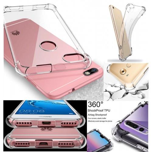 COVER CUSTODIA silicone 360° per HUAWEI Honor 4C 5C 7C 7 8 9 10 lite V9 V10 Play