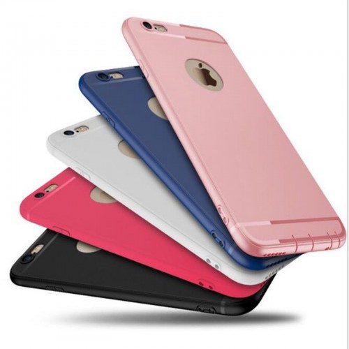 COVER Custodia CASE silicone elegante antiscivolo per iphone 5 6 6S 7 7S plus