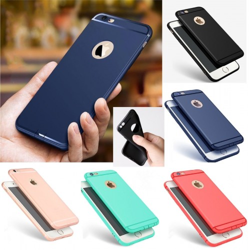 COVER Custodia CASE silicone elegante antiscivolo per iphone 5 6 6S 7 8 plus X