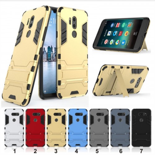 COVER Custodia Case Iron man per LG G4 G5 G6 G7 Q6 Q8 V10 V20 V30 X power Stylo3