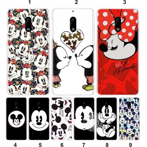 COVER Custodia Case cartoni 3d minnie mickey disney per Nokia lumia 3 5 6 7 8 9
