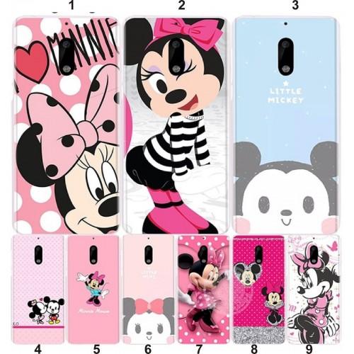 COVER Custodia Case minnie mickey disney per Nokia lumia 630 640 XL 3 5 6 7 8 9