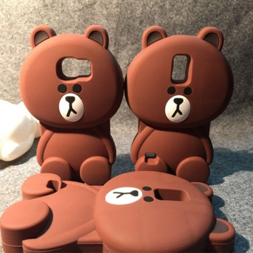 COVER Custodia Case orso bear per SAMSUNG GALAXY S3 S4 S5 S6 J1 J2 J3 J5 J7 note