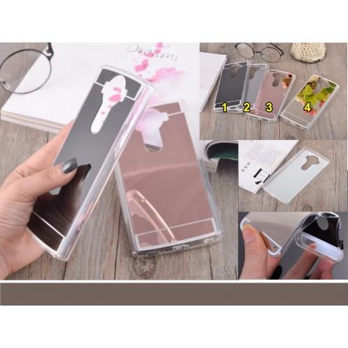 COVER Custodia Case silicone Fashion retro effetto specchio per LG G3 G4 G5