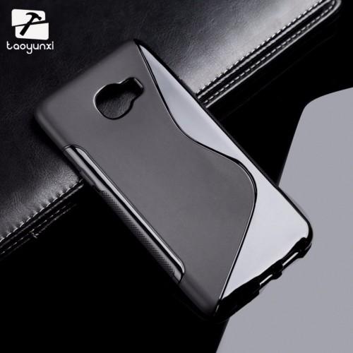 COVER Custodia Case silicone antiscivolo parabordi per samsung C5 C7 C9 Pro 2017