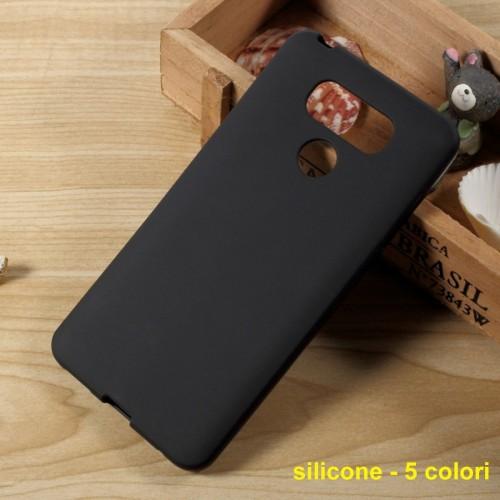 COVER Custodia Case silicone preformato parabordi antiscivolo per LG G3 G4 G5 G6