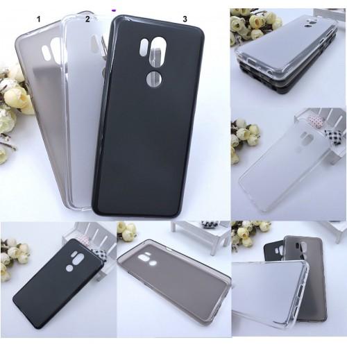 COVER Custodia Case silicone preformato paraurti antiscivolo per LG G4 G5 G6 G7