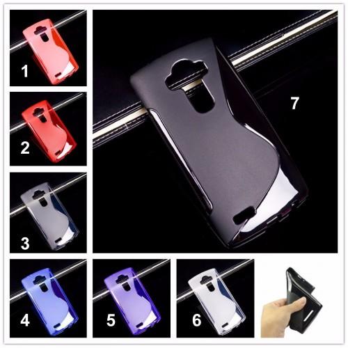 COVER Custodia Case silicone preformato per LG G3 G4 G5 G6 magna K4 K5 K7 K8 K10