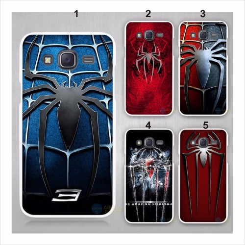 COVER Custodia Case spider man eroi Samsung Galaxy J1 J2 J3 J5 J7 C5 C7 E5 E7