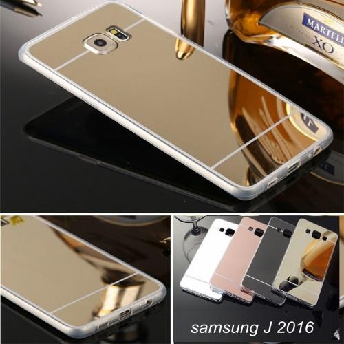 COVER Custodia case TPU a specchio per Samsung Galaxy J1 J2 J3 J5 J7 2016 2017