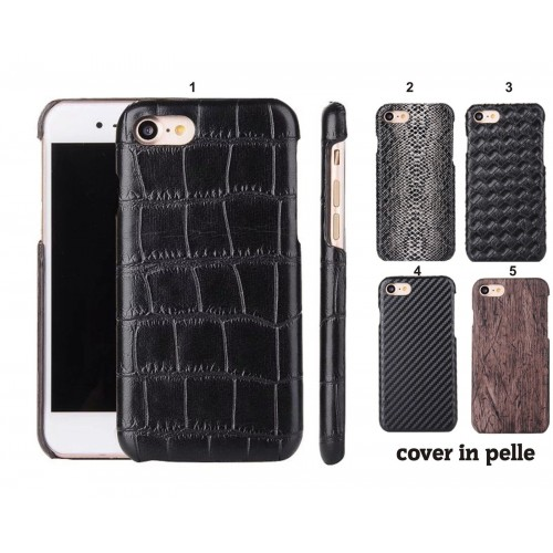 COVER Custodia case in pelle Fashion elegant per iphone  SE 5 5S 6 6S 7 7S Plus