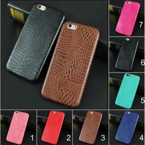 COVER Custodia case in pelle Fashion elegant per iphone  SE 5 6 6S 7 8 Plus X