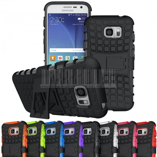 COVER Custodia case in silicone hybrid per Samsung Galaxy S5 S6 S7 Edge Active