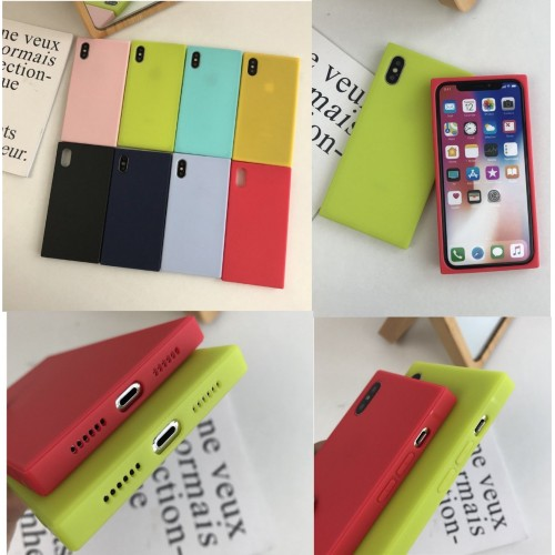 COVER Custodia case silicone antiscivolo antiurto per apple iphone X XR XS Max